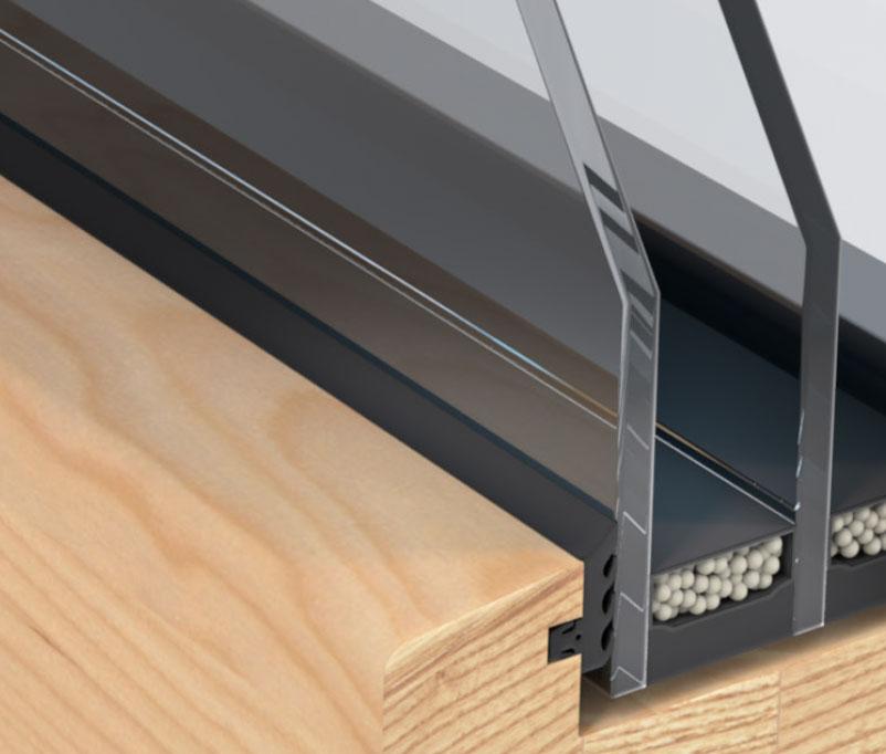 Holz-Alu-Fenster von Unilux