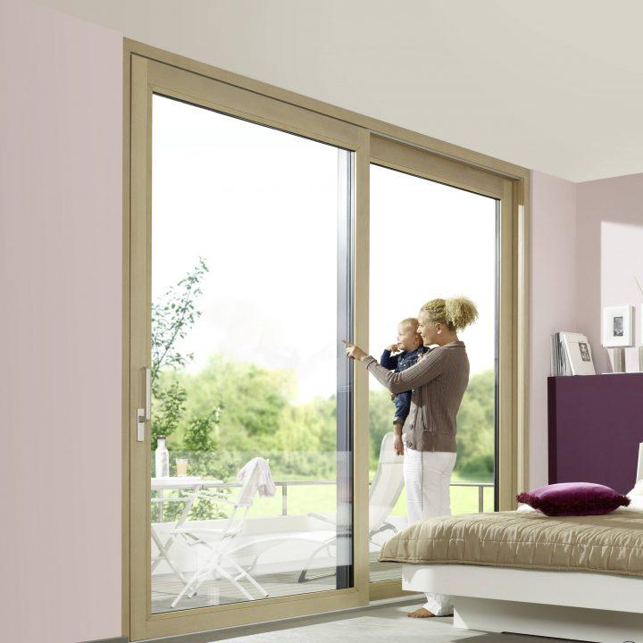 Holz Alu Fenster von Unilux